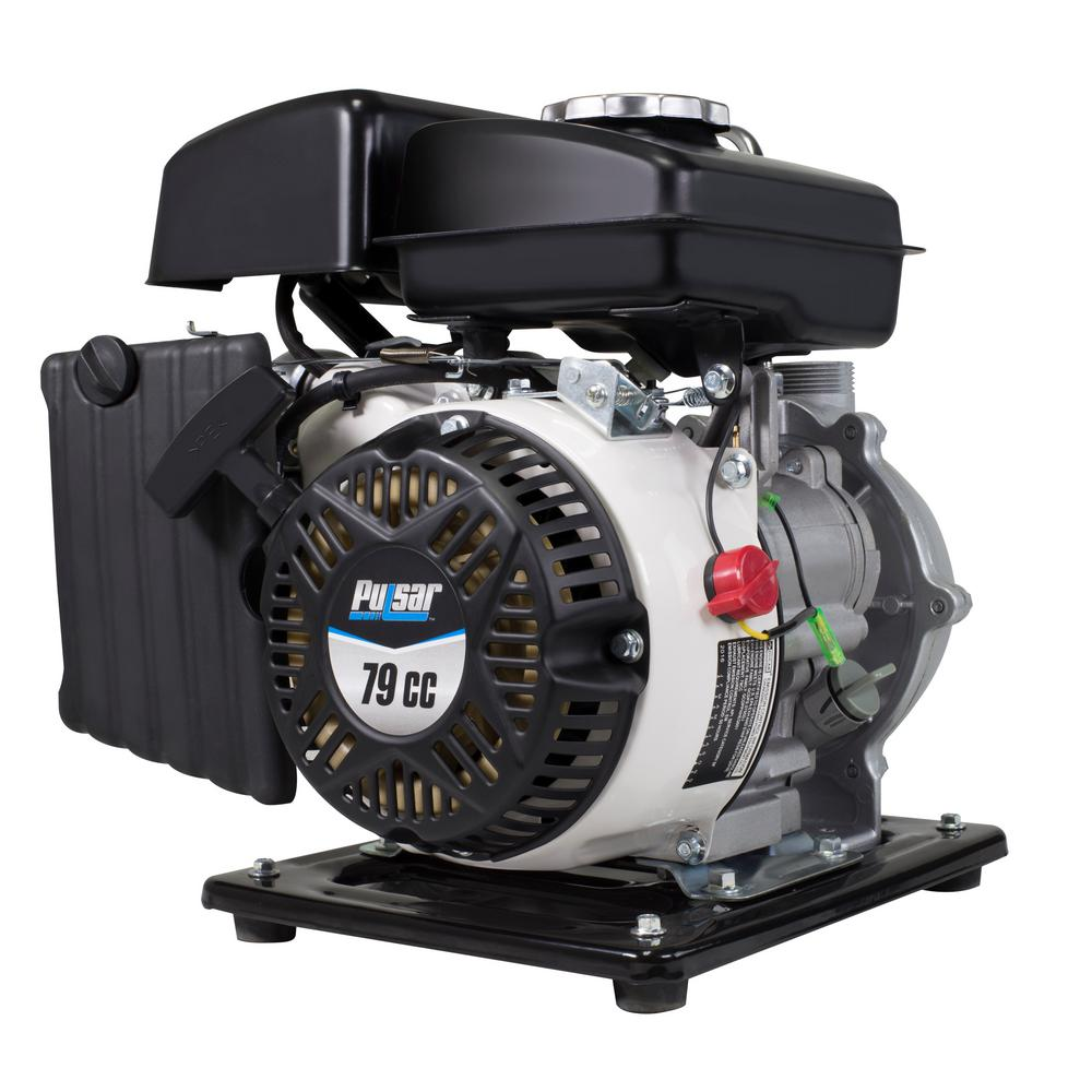 PULSAR 3 HP Gas Powered 1 in. Semi Trash Water Pump