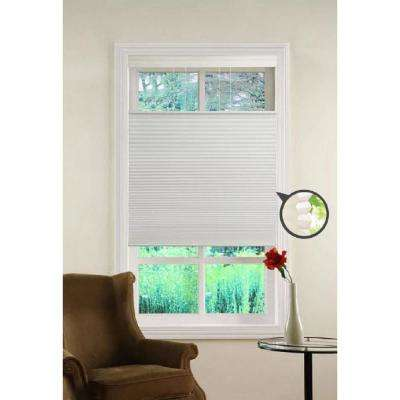 Top Down/Bottom Up White Cordless Cellular Shade - 27 in. W x 64 in. L