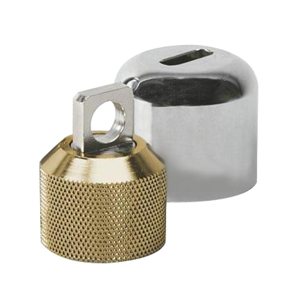 ConservCo Hose Bibb Lock with Padlock-DSL-2 - The Home Depot