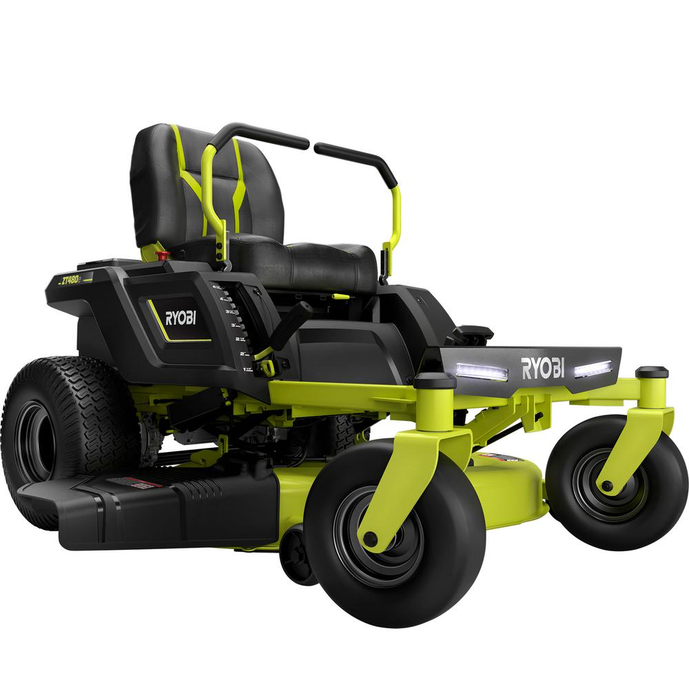 Ryobi 42 In 75 Ah Battery Electric Zero Turn Mower