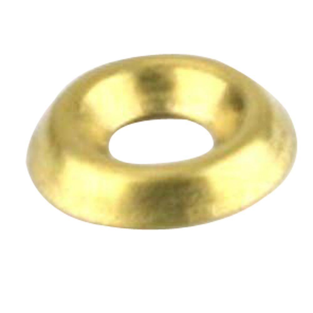 #10 Brass Finishing Washers (4 per Pack)