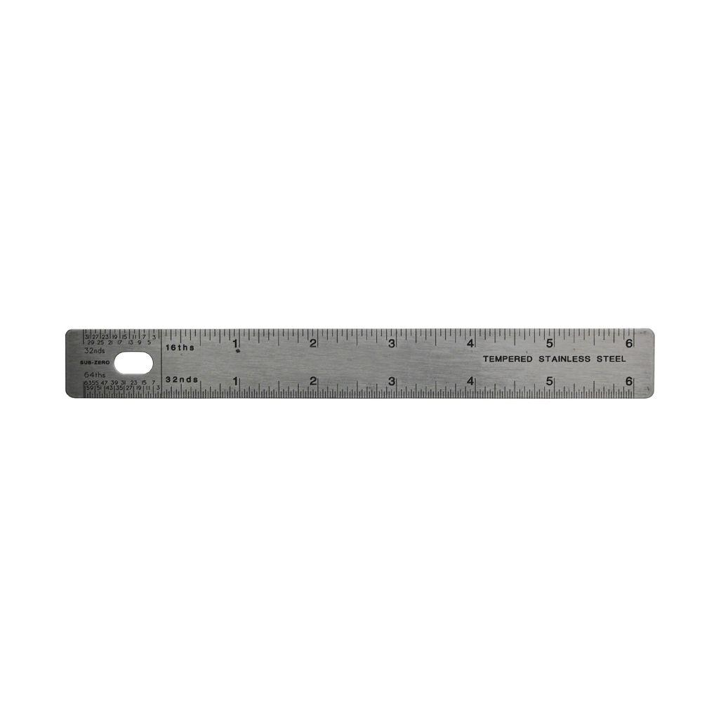 Empire 6 in. Stiff Ruler