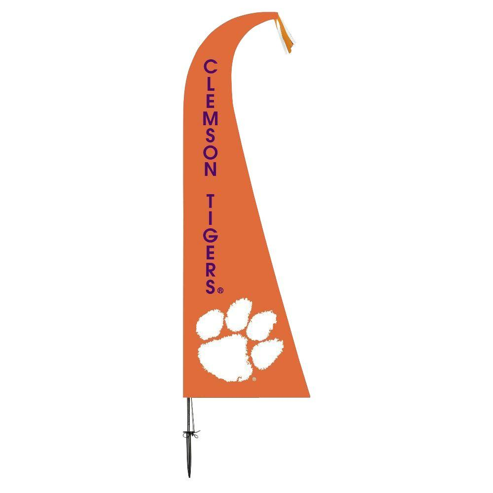 BSI Products NCAA Clemson Tigers Feather 1 ft. x 1.5 ft. Flag