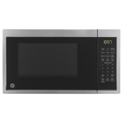 0.9 cu. ft. Smart Countertop Microwave in Stainless Steel