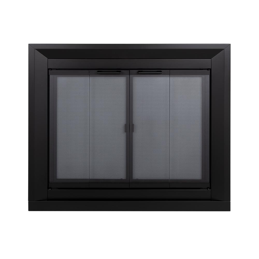 Drake Medium Glass Screen in Black