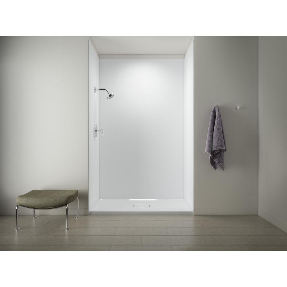 Etonnant Single Threshold Shower Base With Choreograph 96 In