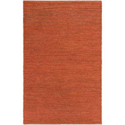Purity Sydney Dark Orange 8 Ft X 10 Indoor Area Rug