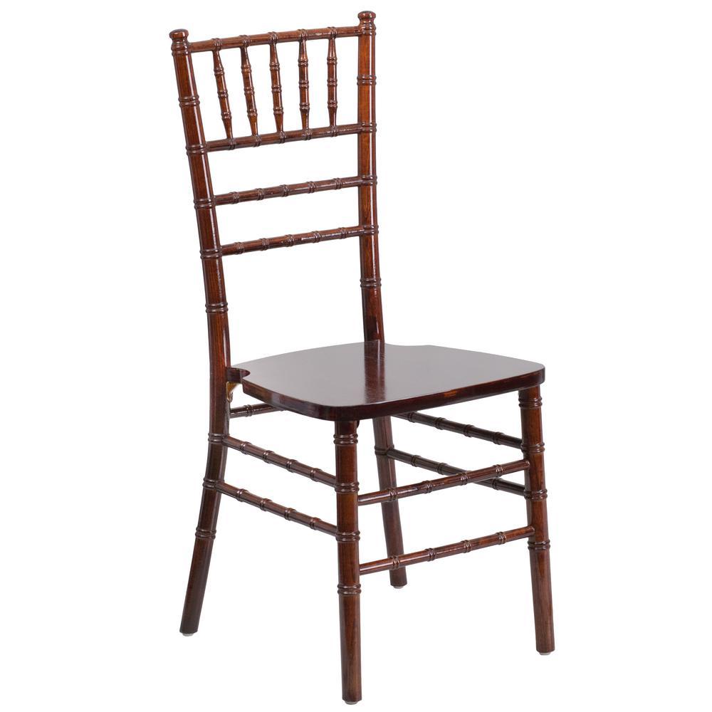 Brown Hercules Series Fruitwood Chiavari Chair