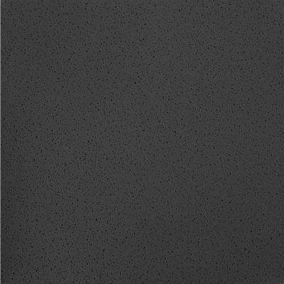 Fine Fissured Black 2 ft. x 2 ft. Lay-in Ceiling Panel (Case of 16)