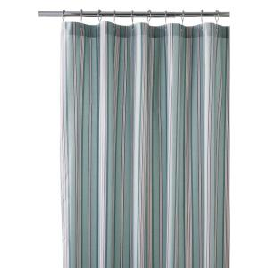 Home Decorators Collection Nuri 72 inch Stripe Shower Curtain in Blue Haze by Home Decorators Collection
