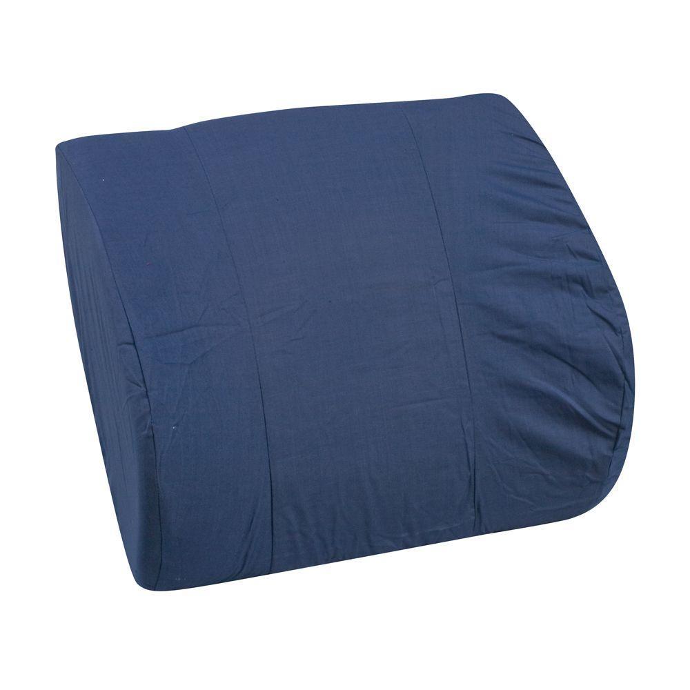 DURO-MED MABIS Memory Foam Lumbar Cushion in Navy