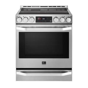 electric range commercial slidein electric range with probake convection infrared heating electrolux iq touch 46 cu ft front controls