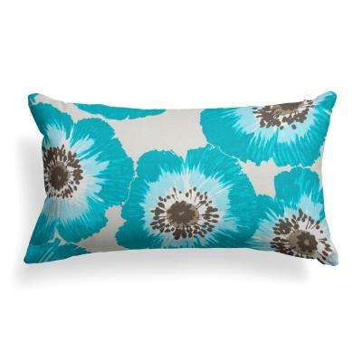 Laguna Rectangular Lumbar Outdoor Throw Pillow