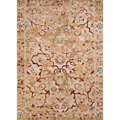 Bridges Villa Bella Taupe 13 Ft X 15 Oversize Area Rug