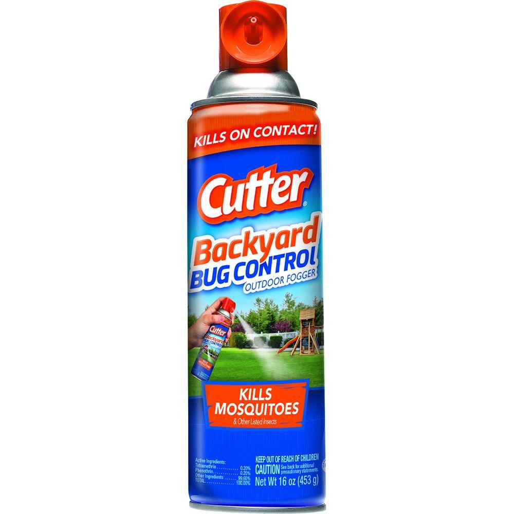 Cutter 16 oz. Backyard Bug Control Outdoor Fogger - Cutter 16 Oz. Backyard Bug Control Outdoor Fogger-HG-95704-4 - The