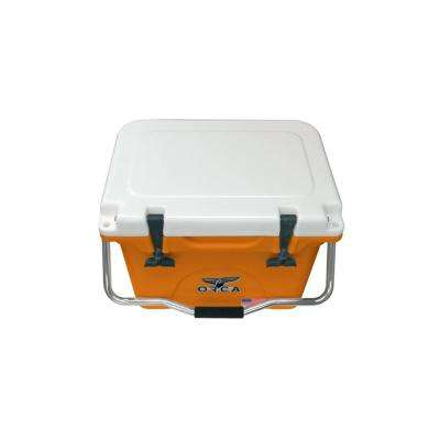 ORCA Orange/White 20 Qt. Cooler