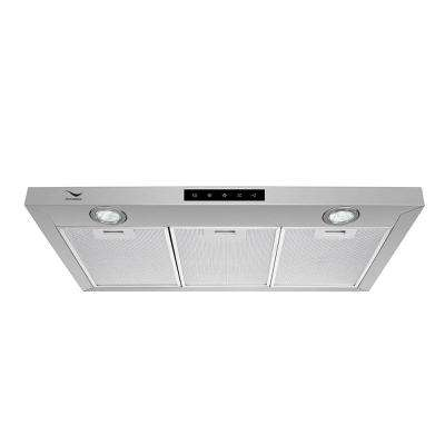 30 in. Convertible Stainless Steel Under the Cabinet Range Hood with Aluminum Mesh Filters, LED Lights, Touch Control