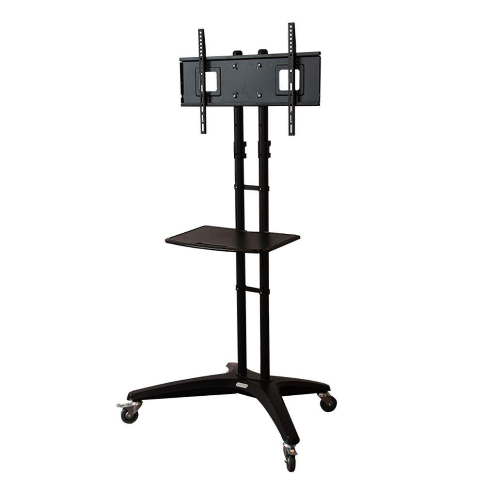 Mobile TV Cart for LCD LED Plasma Flat Panels Stand with
