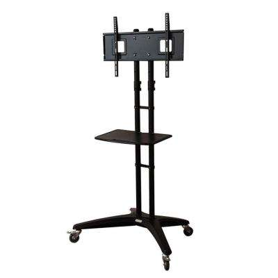 Mobile TV Cart for LCD LED Plasma Flat Panels Stand with Wheels Mobile Fits 32 in. - 65 in. TVs