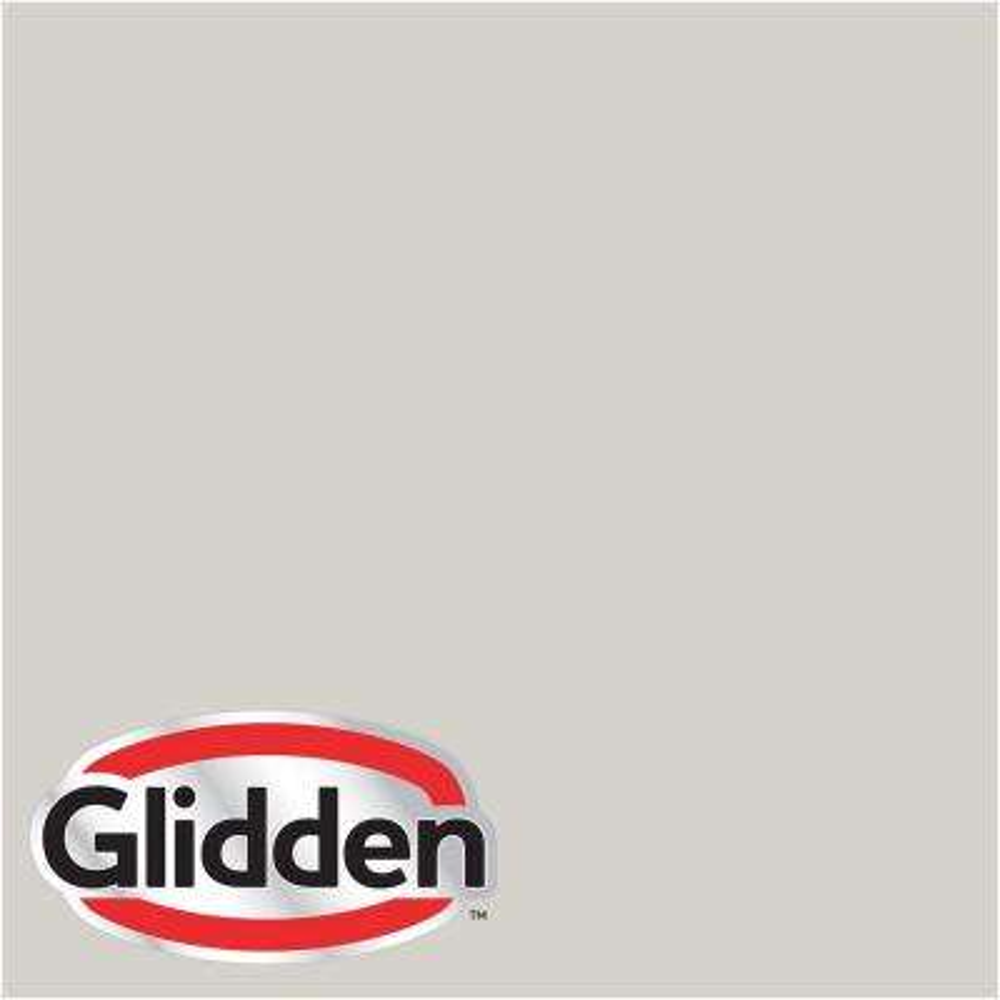 8 oz. #HDGWN48D Old Fossilstone Grey Satin Interior Paint Sample