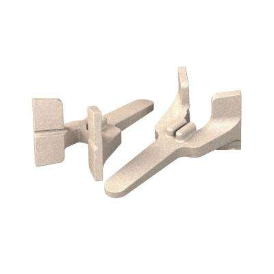 Cast Aluminum Bricklayers Corner Blocks (Pair)