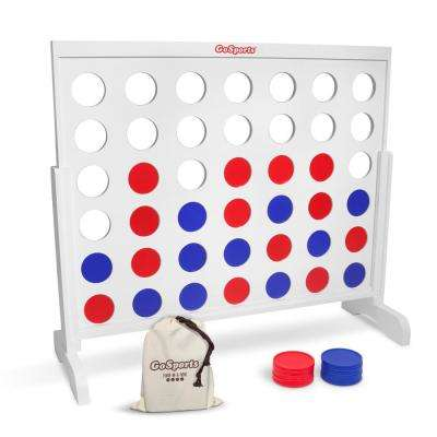 4 ft. Width Giant 4 in a Row Game with Coin Tote Carrying Case