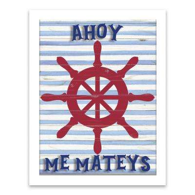 """Ahoy Me Mateys"" by Lot26 Studio Shadowbox"
