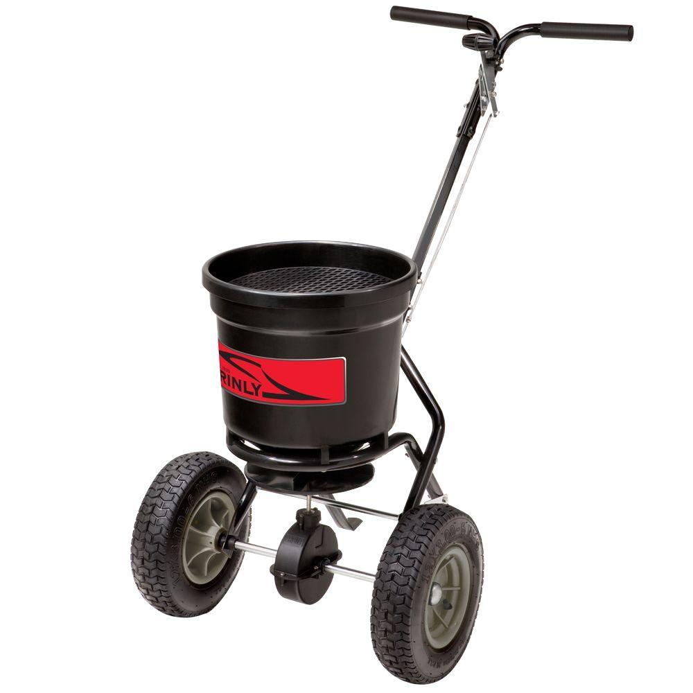 Brinly-Hardy 50 lb. Capacity Push Broadcast Spreader