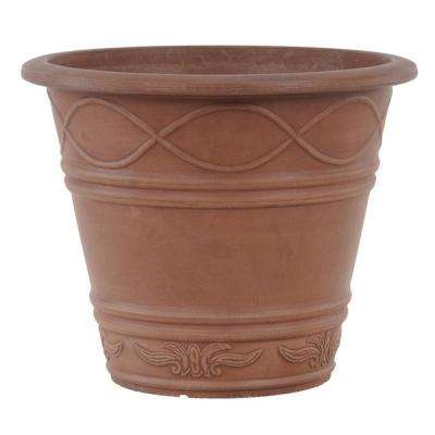 Western Weave 14 in. x 11-1/2 in. Terra Cotta PSW Pot