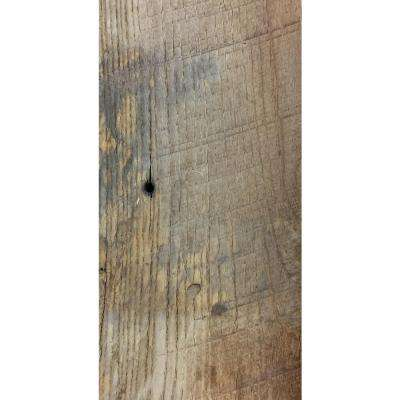 24 sq. ft. 4-1/2 in. Wide Original Face Reclaimed Barn Wood Long Plank Wall Paneling Kit