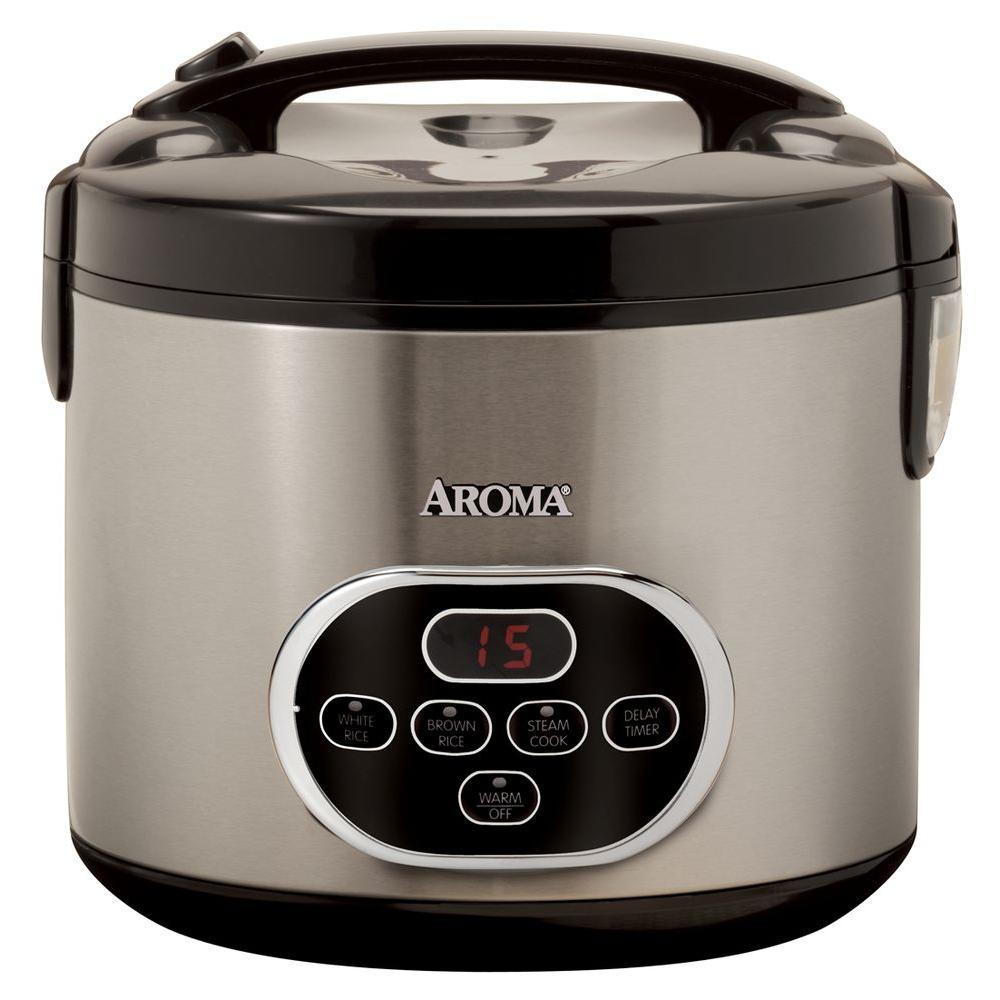 AROMA 10-Cup Digital Rice Cooker-DISCONTINUED