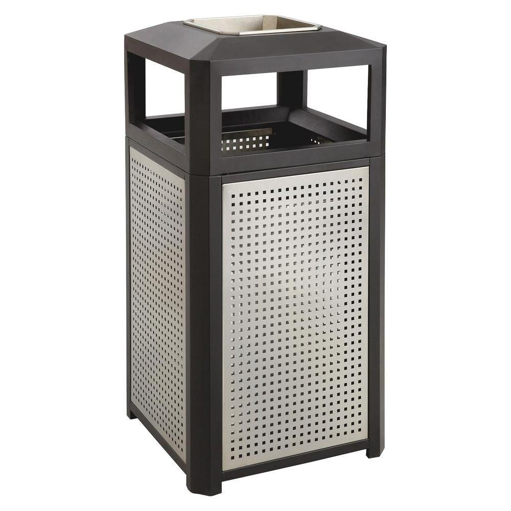 Evos 38 Gal. Steel Ash Waste Receptacle