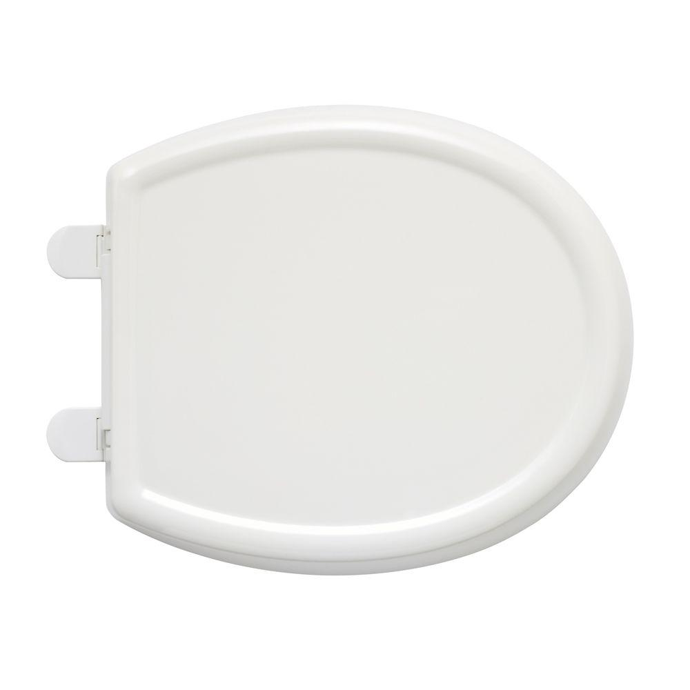 Bemis Just Lift Round Closed Front Toilet Seat In White
