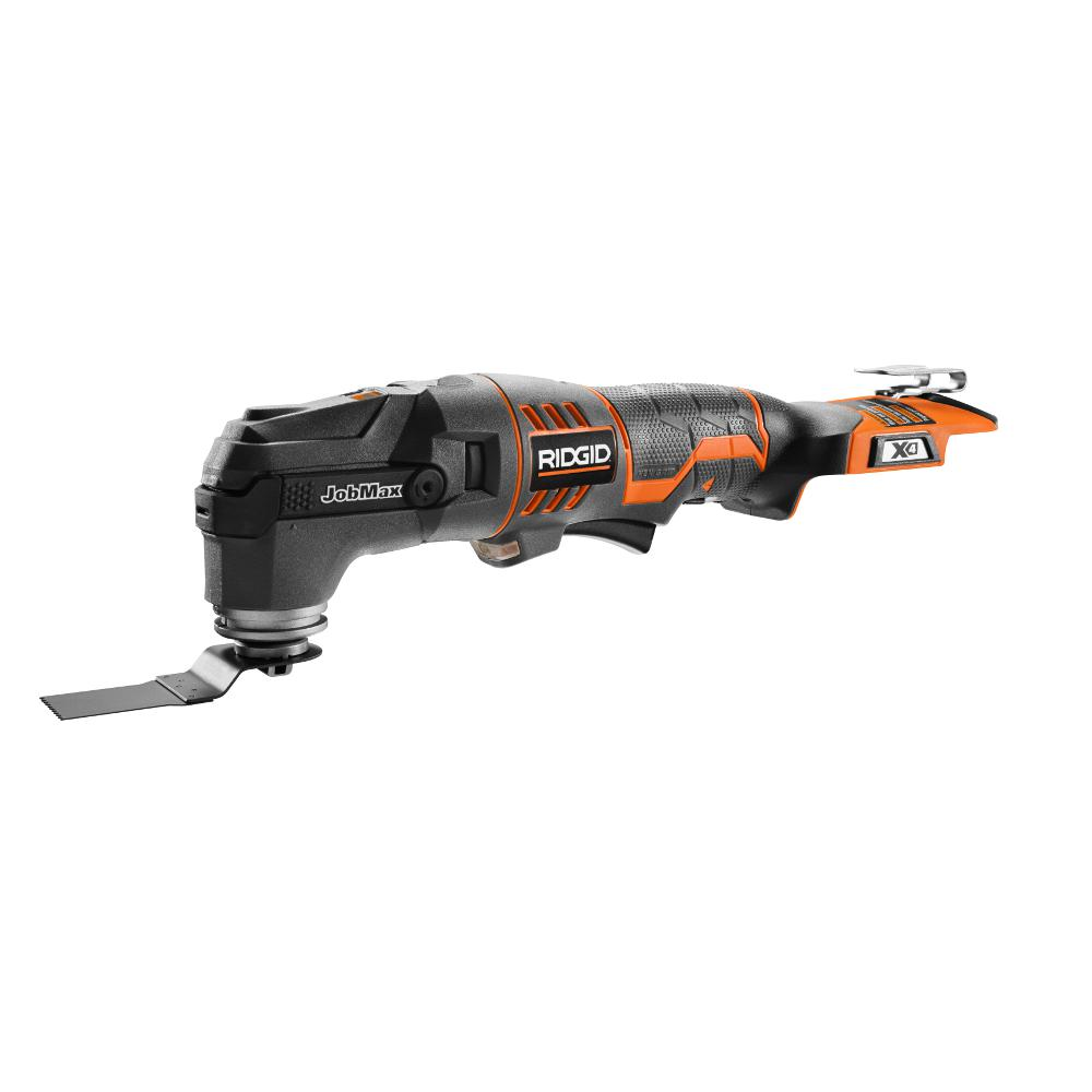 RIDGID 18-Volt Cordless JobMax Console with Tool-Free Multi-Tool Head (Tool Only)