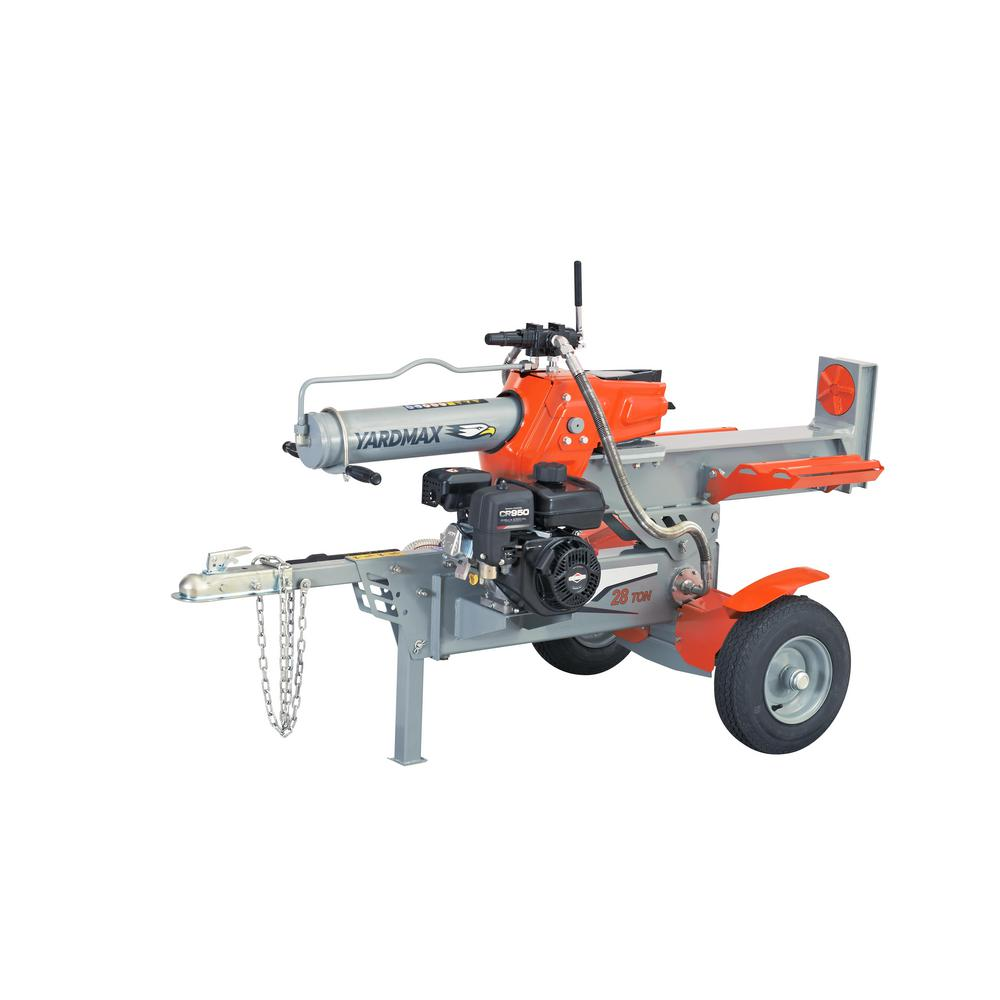 YARDMAX 28-Ton 208cc Gas Log Splitter