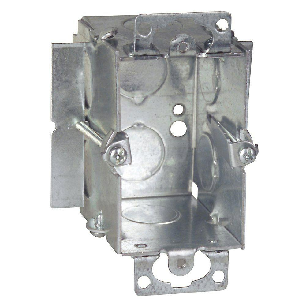 1-Gang Steel Old Work Gangable Box (Case of 16)