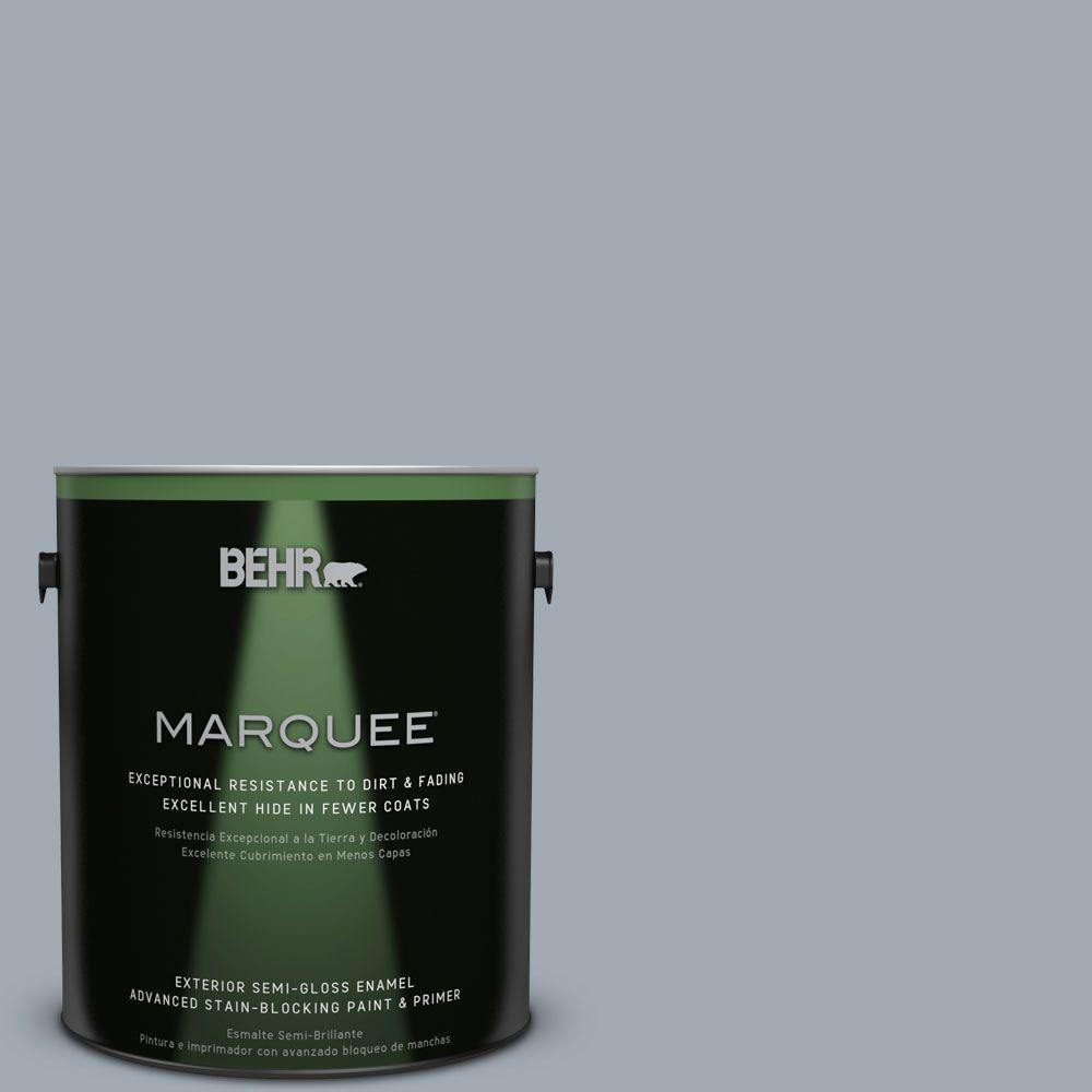 BEHR MARQUEE 1-gal. #T13-6 Twilight Semi-Gloss Enamel Exterior Paint