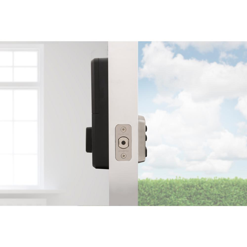 Satin Nickel Kwikset 15 CP RCAL RCS 905 Keyless Deadbolt