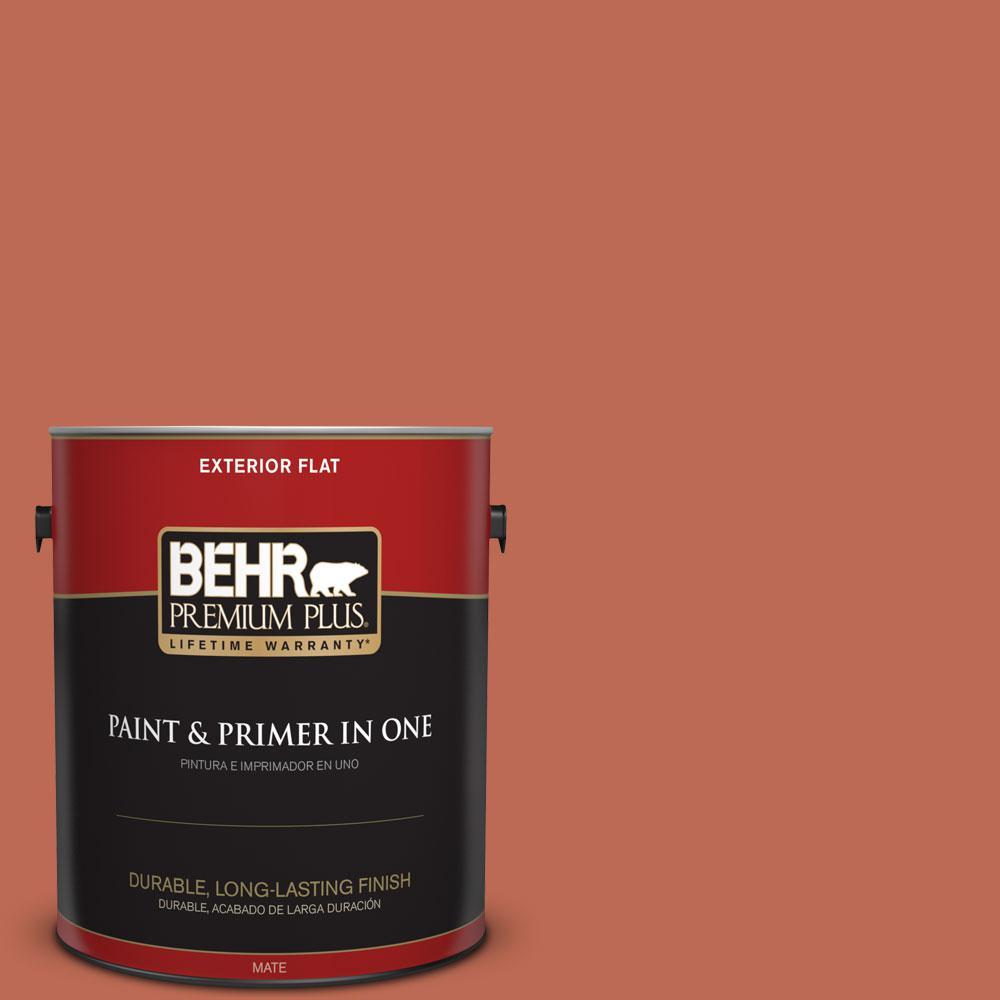 Home Decorators Collection 1-gal. #HDC-FL13-3 Warm Cider Flat Exterior Paint