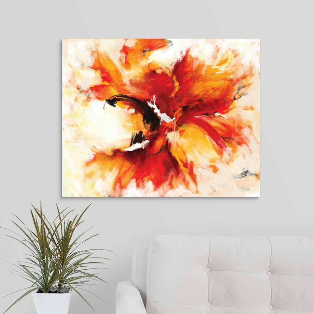 Greatbigcanvas The Phoenix By Circle Art Group Canvas Wall Art