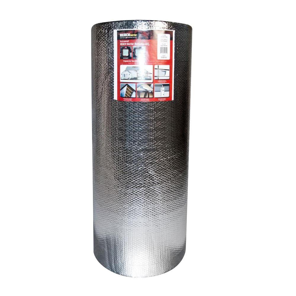 Reach Barrier 48 in. x 125 ft. Air Double Reflective Polyethylene Insulation Roll