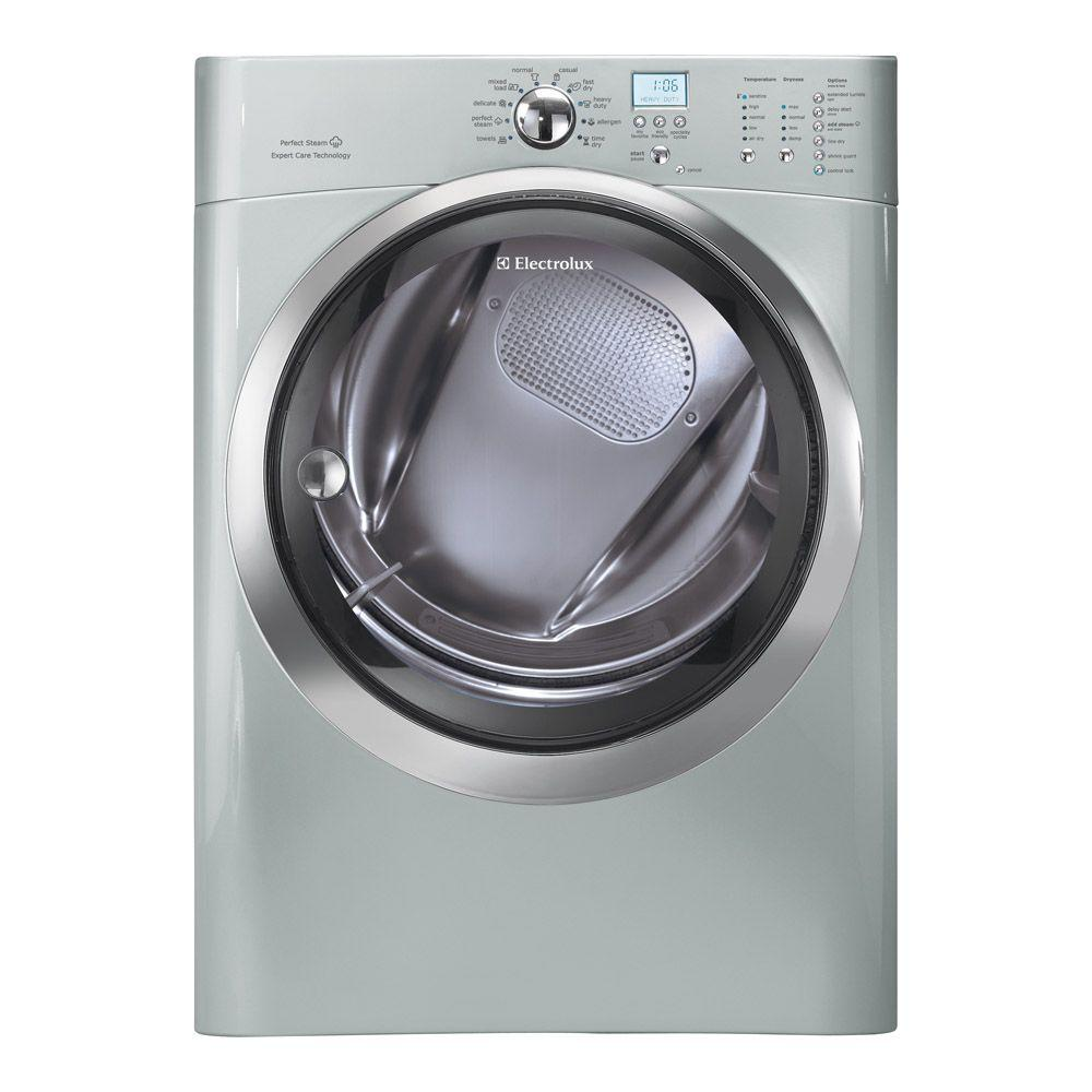 Electrolux IQ-Touch 8.0 cu. ft. Electric Dryer with Steam in Silver Sands