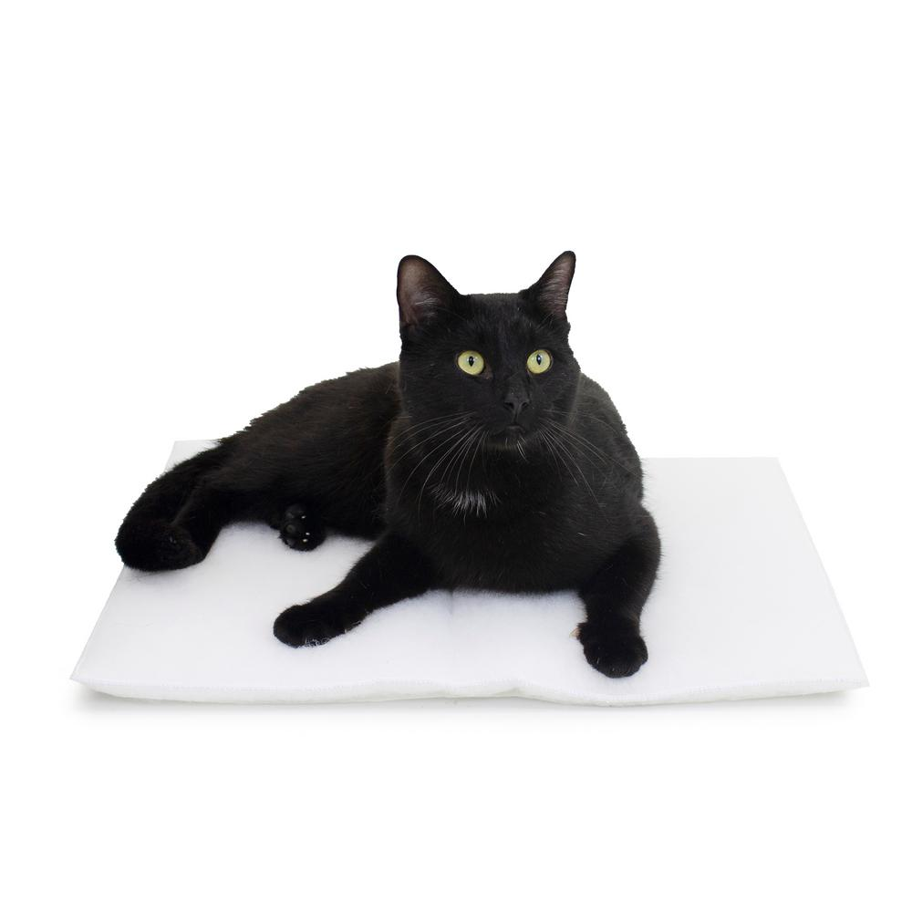 Carolina Pet Company Purr Pad Medium White Bed