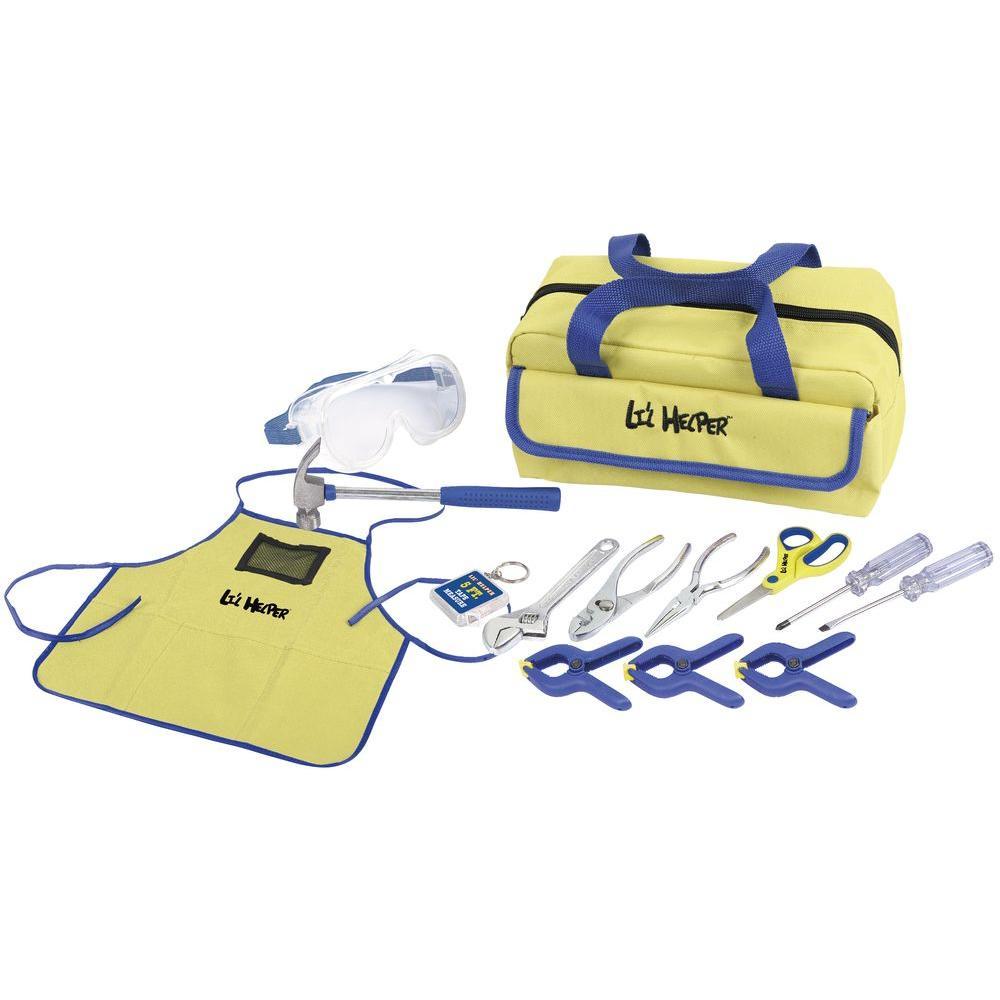 23bece935 Junior Handyman Tool Set (14-Piece)-99481 - The Home Depot