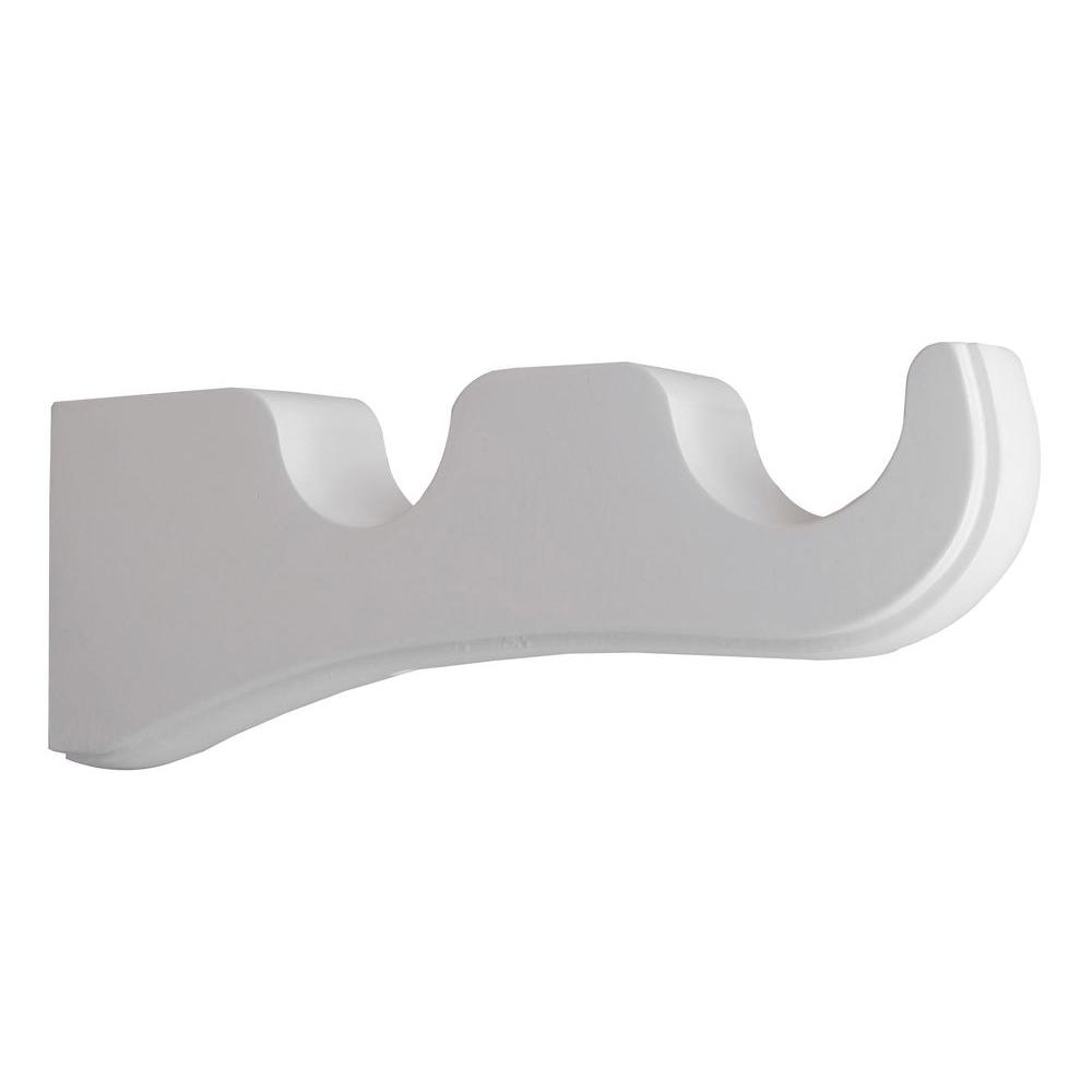 rod for double urbanest products finishes zinc brackets bracket cast curtain