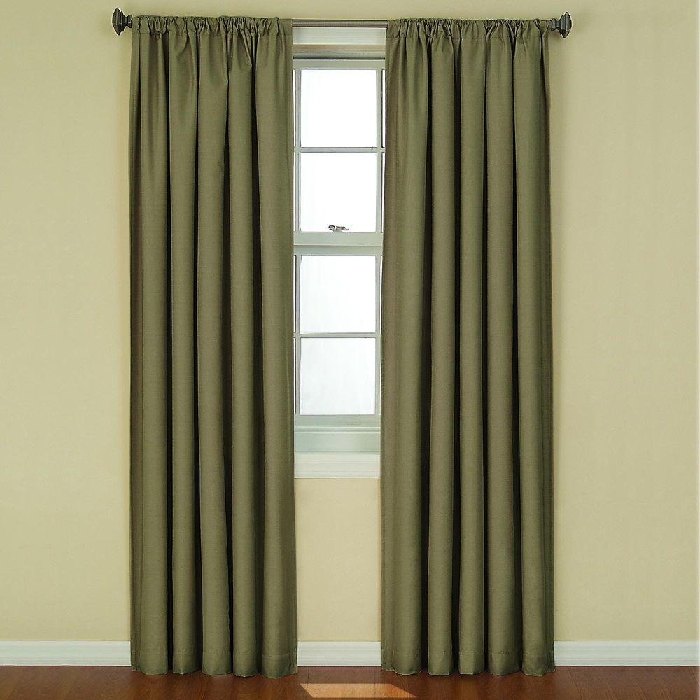 Kendall Blackout Artichoke Curtain Panel, 84 in. Length