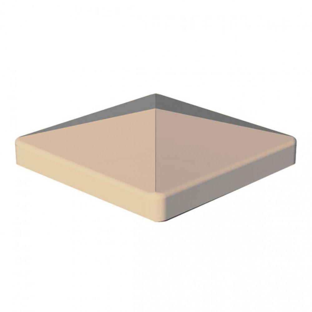 RDI 4 in. x 4 in. Vinyl Sand Flat Post Cap