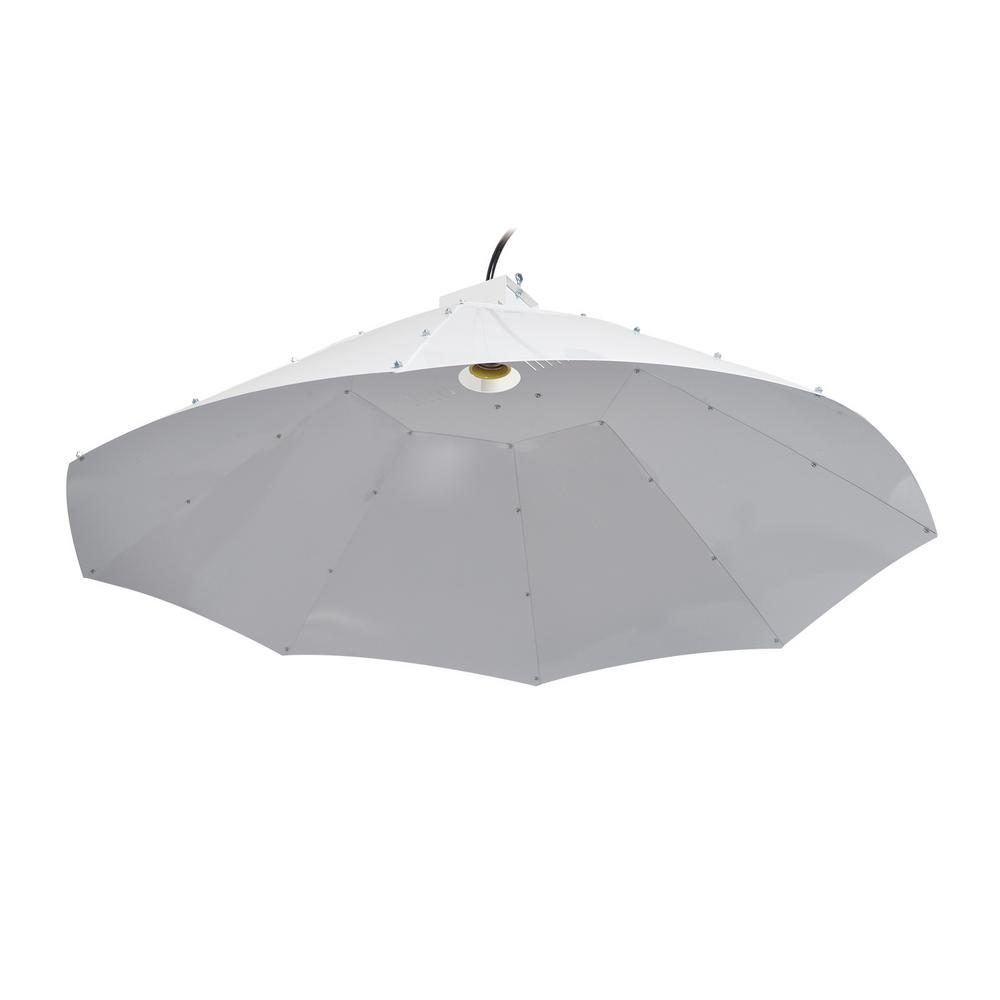 42 in. Parabolic Vertical Umbrella Hood Grow Light Reflector for up
