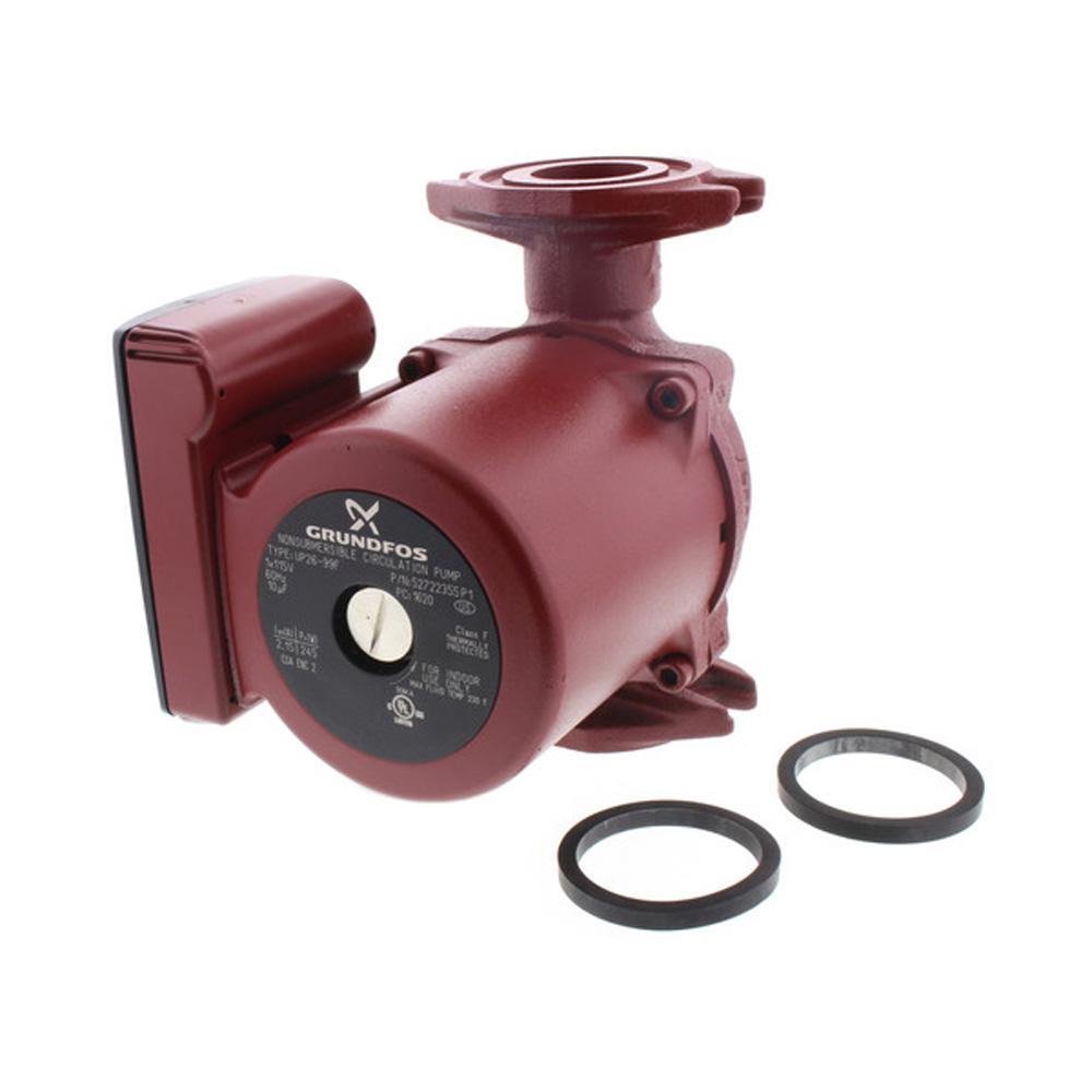 Grundfos Up26 99f 1 6 Hp 115 Volt Circulator Pump 52722355