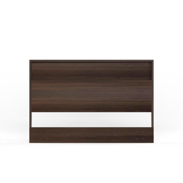 South Shore Holland Full/Queen-Size Headboard in Chocolate 3379261